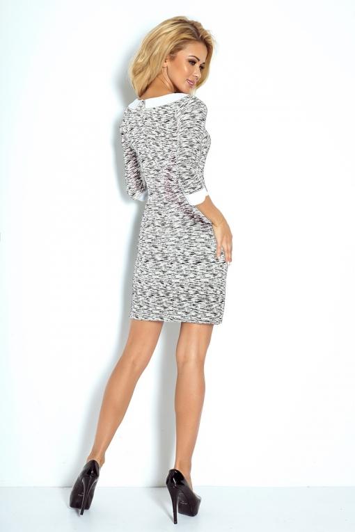 Voorkeur Zakelijke jurk met een kraag - Zakelijk Jurken - MODETOTAAL Dames #MH09