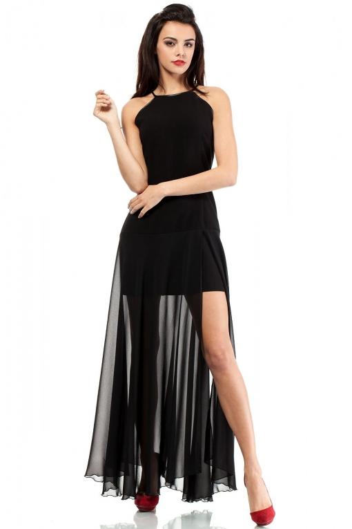 02126ab6231d3c Lang jurk Moe - Cocktailjurken - MODETOTAAL Dames en Heren kleding